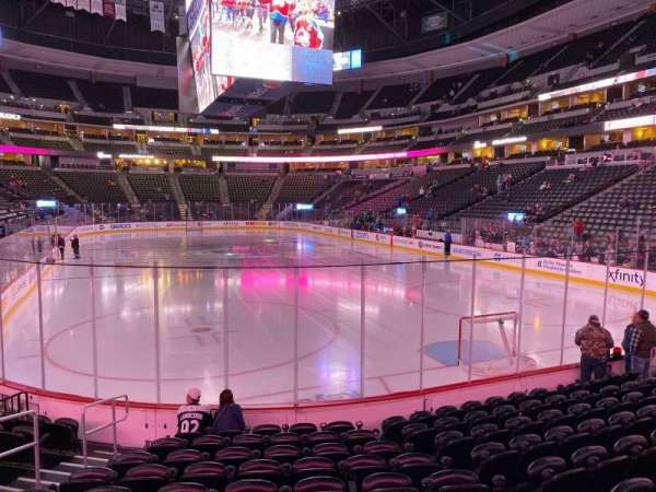 Pepsi Center, section: 116, row: 10, seat: 5