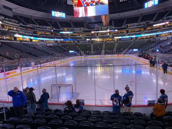 Pepsi Center, section: 112, row: 9, seat: 3