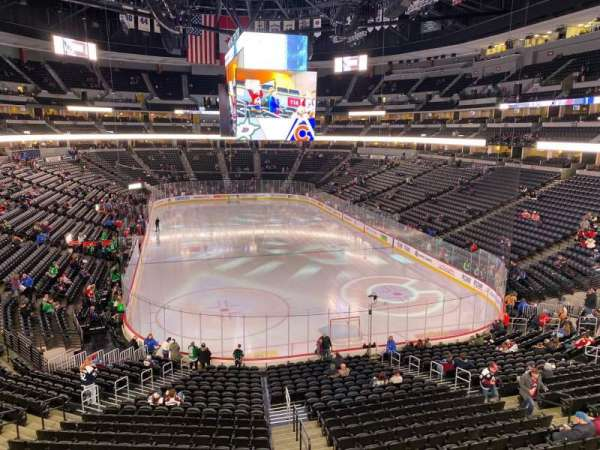 Pepsi Center, section: 248, row: 2, seat: 9