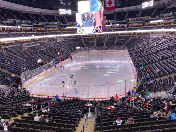 Pepsi Center, section: 244, row: 1, seat: 7