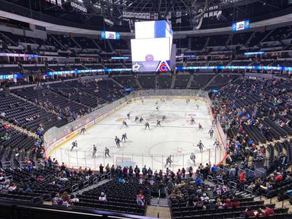 Pepsi Center, section: 214, row: 3, seat: 10