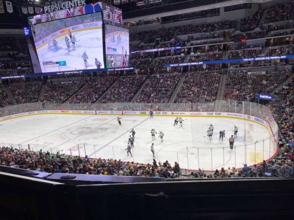 Pepsi Center, section: 256, row: 1, seat: 7
