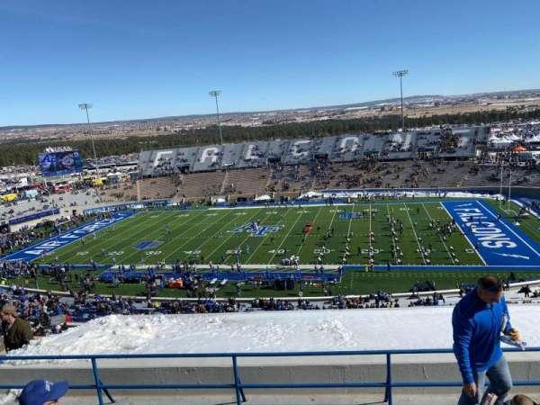 Falcon Stadium, section: U5, row: K, seat: 22
