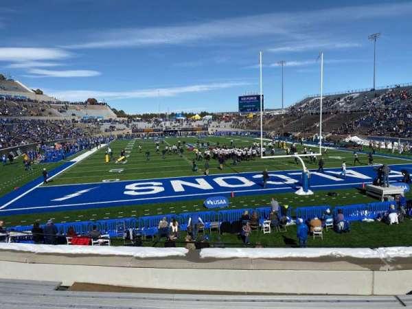Falcon Stadium, section: L2, row: H, seat: 14