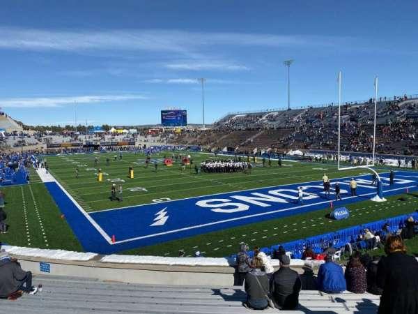 Falcon Stadium, section: L3, row: N, seat: 16