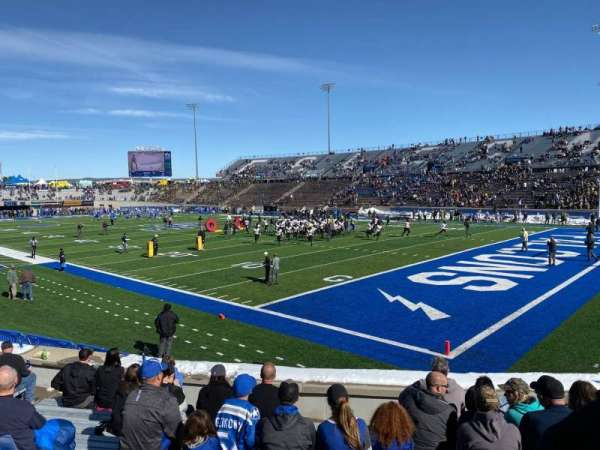 Falcon Stadium, section: L4, row: M, seat: 17