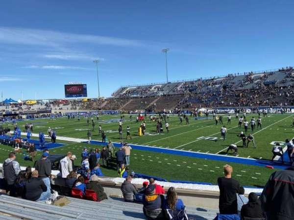 Falcon Stadium, section: L5, row: N, seat: 17