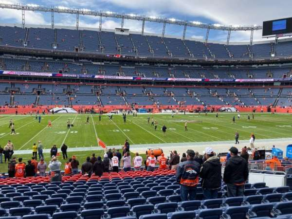 Empower Field at Mile High Stadium, section: 125, row: 18, seat: 12
