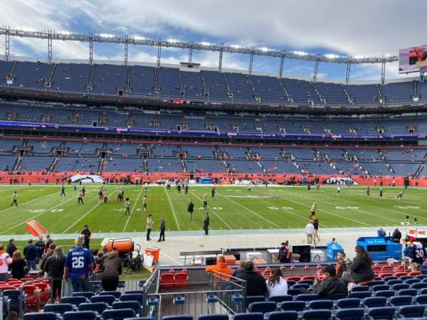 Empower Field at Mile High Stadium, section: 124, row: 16, seat: 18