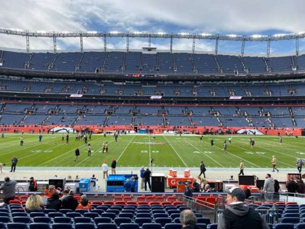 Empower Field at Mile High Stadium, section: 123, row: 17, seat: 14