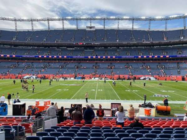 Empower Field at Mile High Stadium, section: 122, row: 14, seat: 17