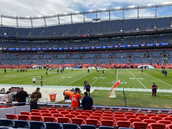 Empower Field at Mile High Stadium, section: 121, row: 10, seat: 16