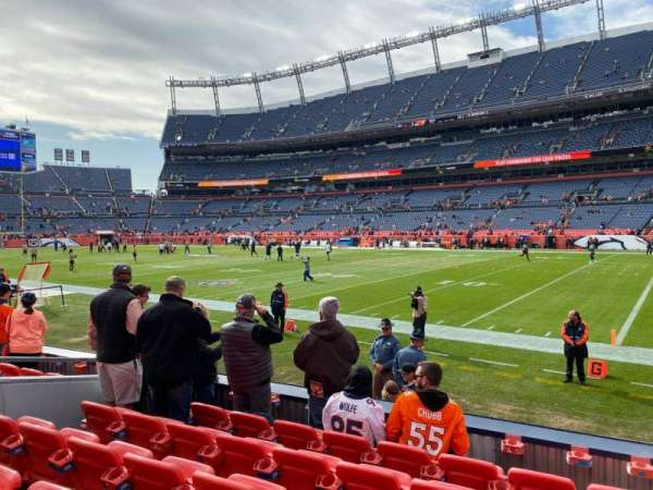 Empower Field at Mile High Stadium, section: 119, row: 7, seat: 7