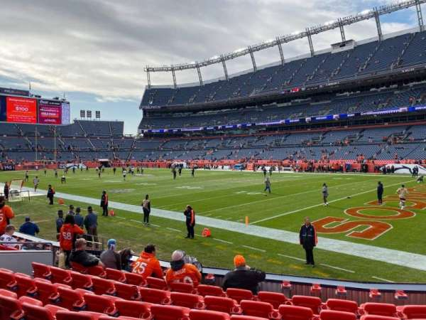 Empower Field at Mile High Stadium, section: 118, row: 8, seat: 15