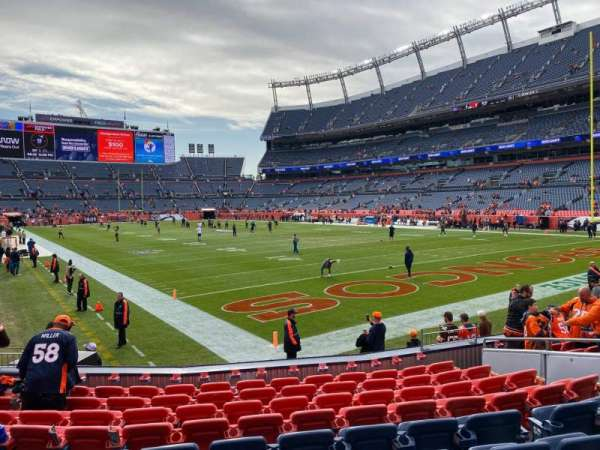 Empower Field at Mile High Stadium, section: 117, row: 10, seat: 10
