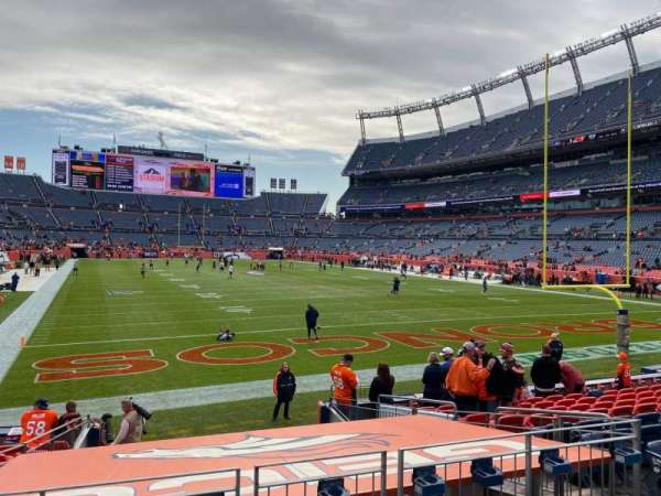 Empower Field at Mile High Stadium, section: 116, row: 12, seat: 7