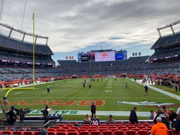 Empower Field at Mile High Stadium, section: 113, row: 12, seat: 8