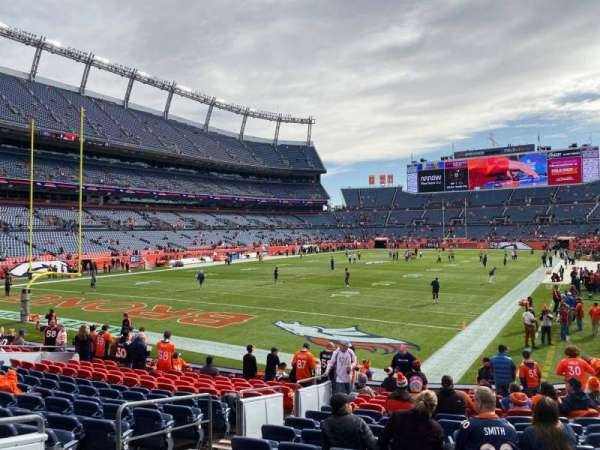 Empower Field at Mile High Stadium, section: 111, row: 15, seat: 17