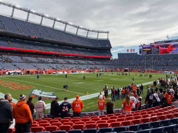 Empower Field at Mile High Stadium, section: 110, row: 11, seat: 22