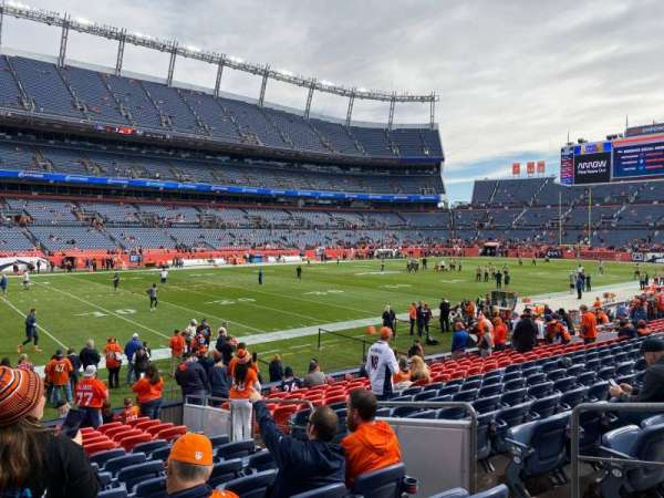 Empower Field at Mile High Stadium, section: 109, row: 14, seat: 5