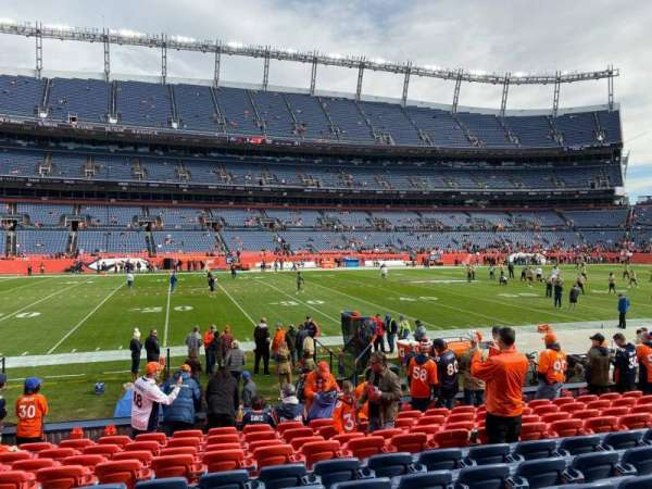 Empower Field at Mile High Stadium, section: 107, row: 11, seat: 16