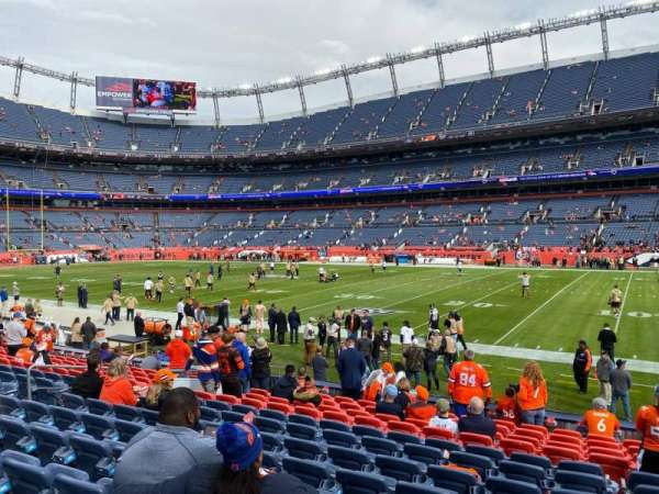 Empower Field at Mile High Stadium, section: 102, row: 13, seat: 10