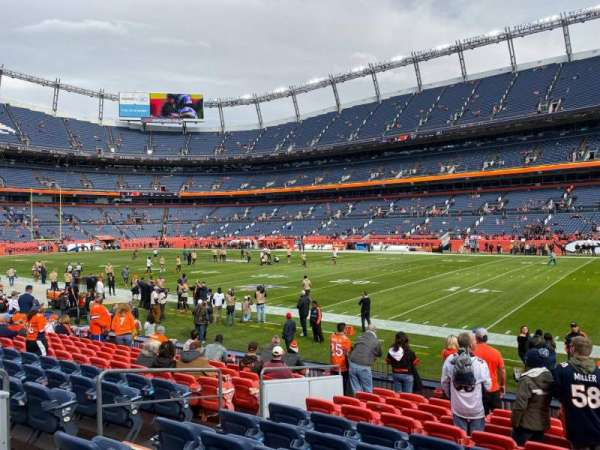 Empower Field at Mile High Stadium, section: 101, row: 11, seat: 9