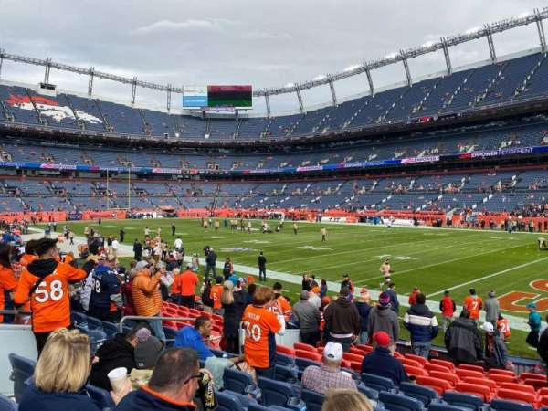 Empower Field at Mile High Stadium, section: 100, row: 12, seat: 21