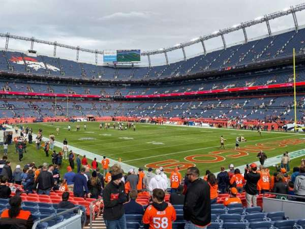 Empower Field at Mile High Stadium, section: 135, row: 14, seat: 21