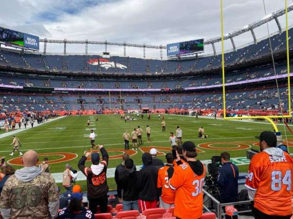 Empower Field at Mile High Stadium, section: 133, row: 8, seat: 12