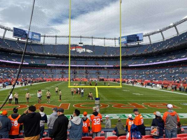 Empower Field at Mile High Stadium, section: 132, row: 9, seat: 15