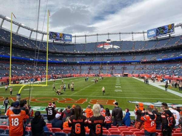 Empower Field at Mile High Stadium, section: 131, row: 12, seat: 10