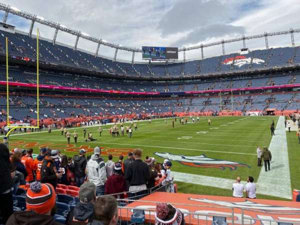 Empower Field at Mile High Stadium, section: 130, row: 11, seat: 23