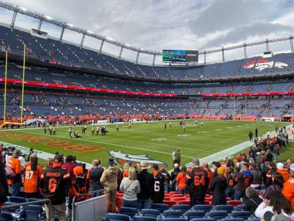 Empower Field at Mile High Stadium, section: 129, row: 13, seat: 6