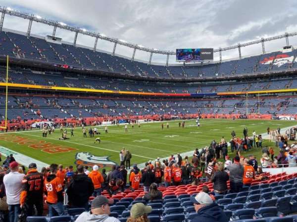 Empower Field at Mile High Stadium, section: 128, row: 15, seat: 26