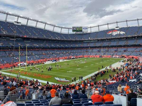 Empower Field at Mile High Stadium, section: 129, row: 35, seat: 5