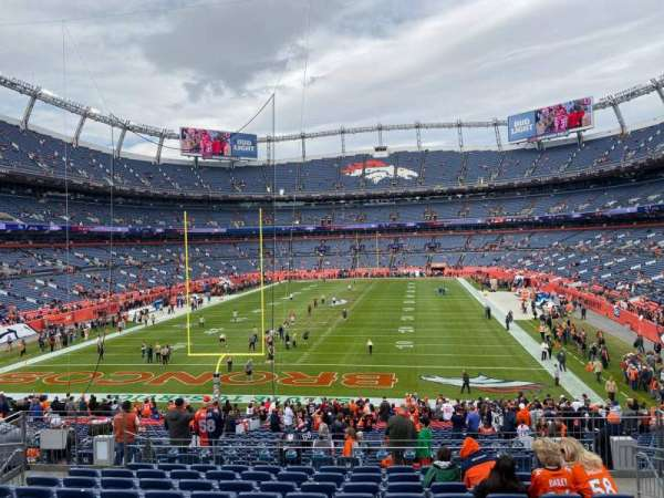 Empower Field at Mile High Stadium, section: 131, row: 34, seat: 10