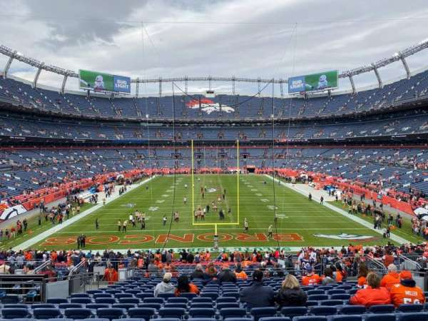 Empower Field at Mile High Stadium, section: 132, row: 40, seat: 15