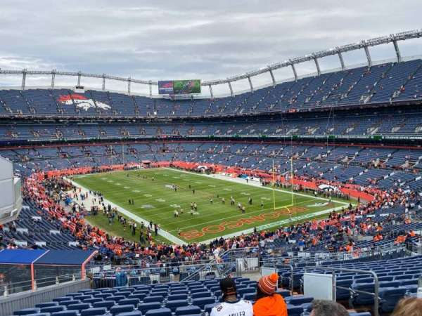 Empower Field at Mile High Stadium, section: 236, row: 19, seat: 5