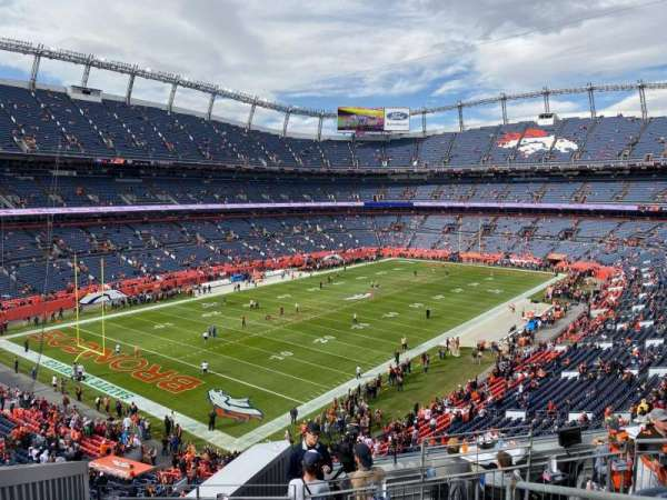 Empower Field at Mile High Stadium, section: 346, row: 9, seat: 2