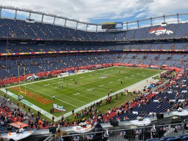 Empower Field at Mile High Stadium, section: 345, row: 9, seat: 10