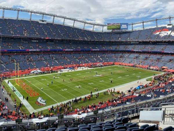 Empower Field at Mile High Stadium, section: 344, row: 12, seat: 12