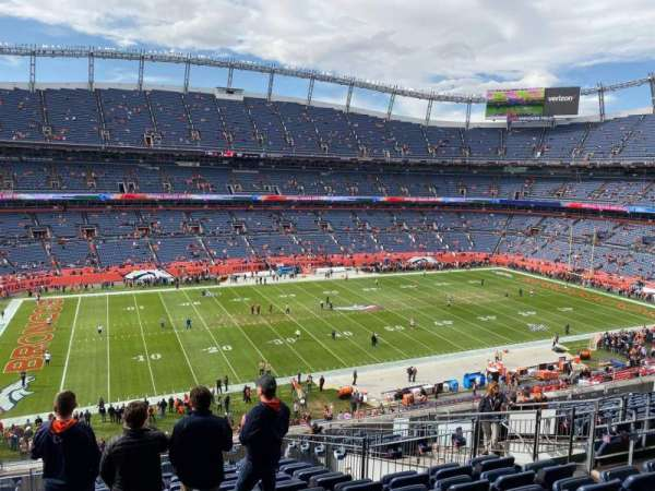 Empower Field at Mile High Stadium, section: 341, row: 15, seat: 10
