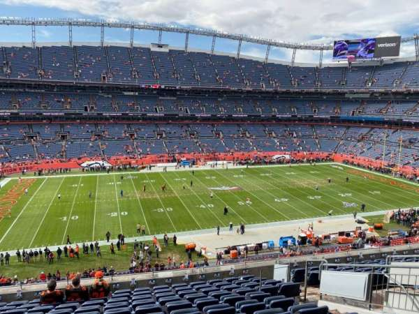 Empower Field at Mile High Stadium, section: 340, row: 12, seat: 8