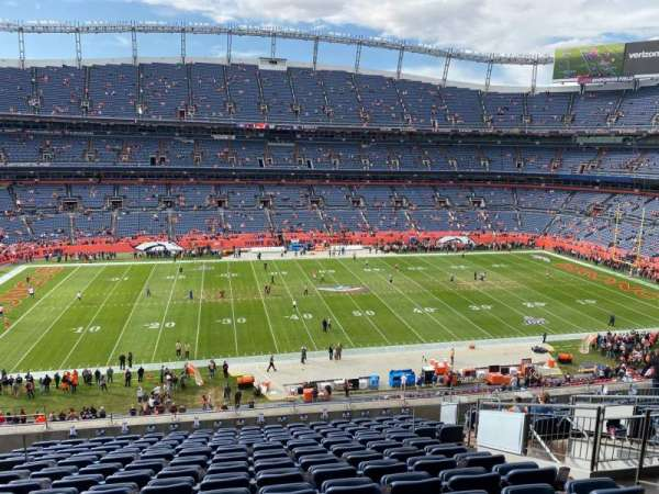 Empower Field at Mile High Stadium, section: 339, row: 14, seat: 8