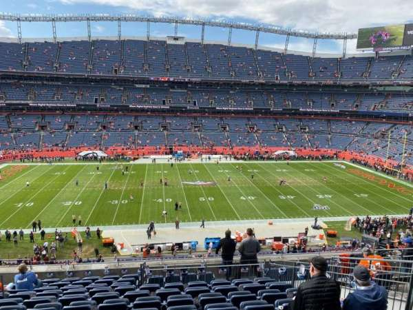 Empower Field at Mile High Stadium, section: 338, row: 12, seat: 11