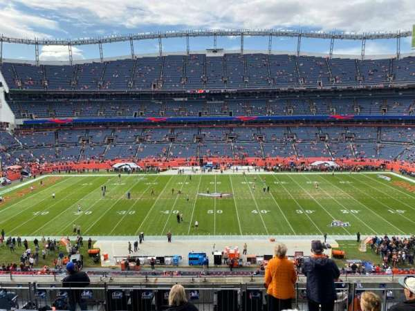 Empower Field at Mile High Stadium, section: 337, row: 10, seat: 5