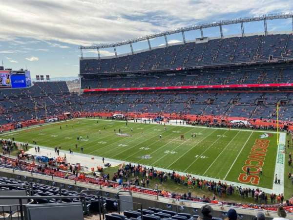 Empower Field at Mile High Stadium, section: 331, row: 10, seat: 10