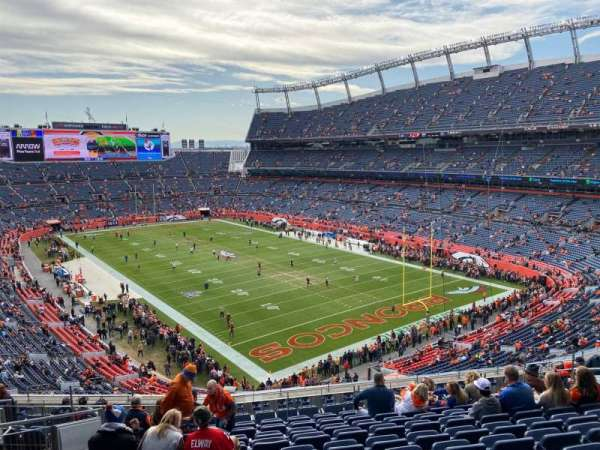 Empower Field at Mile High Stadium, section: 327, row: 14, seat: 14
