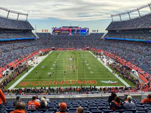 Empower Field at Mile High Stadium, section: 323, row: 12, seat: 12